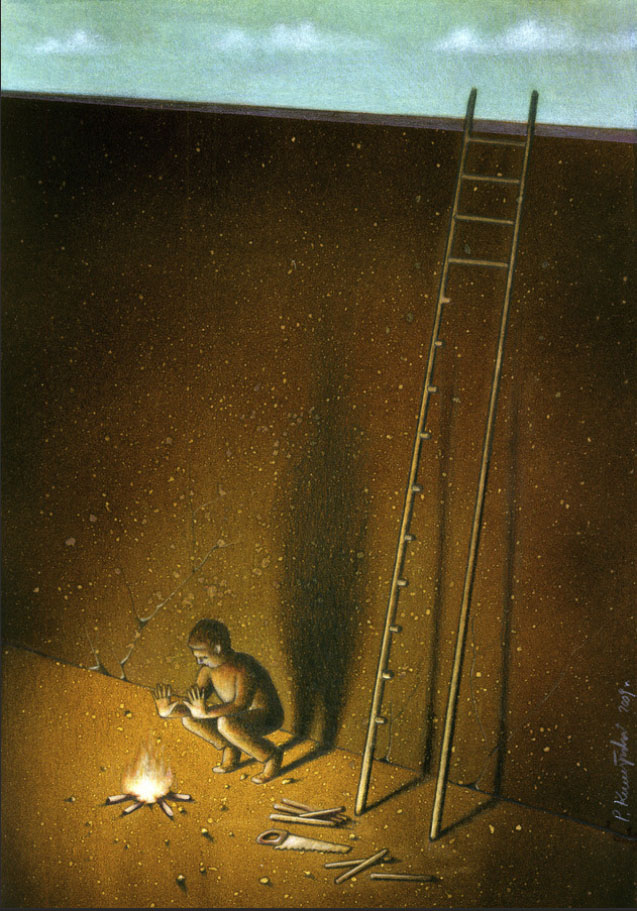 Poverty resouce ladder